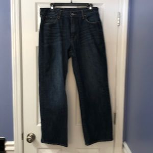 Mens Lucky Brand Jeans 34 Straight 181